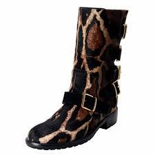 s boots buckle giuseppe zanotti multi color design s pony hair buckle up
