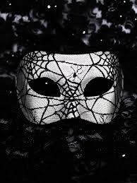 black and white masquerade masks men s unique black white spider web venetian mask