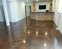 Cement Floor Paint Brown Epoxy Basement Floor Paint Ideas Flooring Ideas Floor
