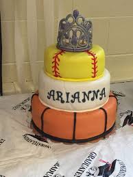 sports cake basketball volleyball u0026 softball cakes for all