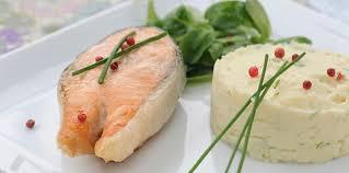topinambour recette cuisine médaillon de saumon purée de topinambour facile et pas cher