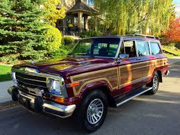1991 jeep wagoneer interior 1991 jeep sj grand wagoneer is up for grabs on bring a trailer