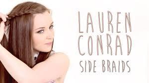conrad side braid hair tutorial