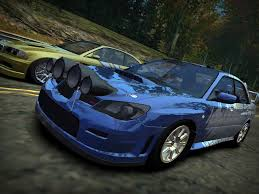 subaru rice need for speed most wanted subaru impreza wrx sti 2006 nfscars
