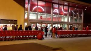 target usa black friday black friday line at target in missoula montana youtube