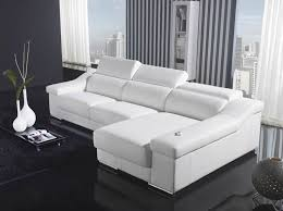Cheap White Leather Sectional Sofa White Sectional Leather Sofa Modern Cheap Modern White Leather