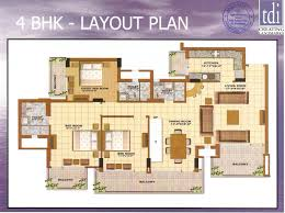 floor plans sky villa penthouse with roof garden residential