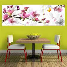 3pcs flower combination painting oil painting printed on canvas