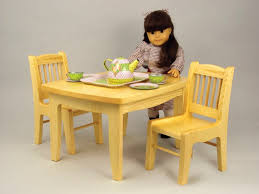 19 w3434 doll tea table and chair woodworking plan