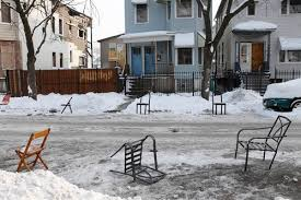 meathead city winter parking place savers and other primitive