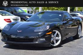 used corvett used chevrolet corvette at presidential auto sales service and