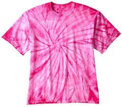 pink spider mens tie dye t shirt