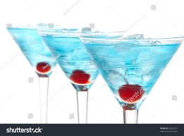 martini clipart no background blue martini cocktails row composition alcohol stock photo