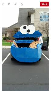 cookie monster halloween costume 8 best trunk or treat images on pinterest cookie monster trunk