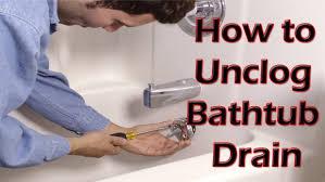 how to unclog a sink without baking soda bathroom ergonomic unclog bathtub drain with baking soda vinegar