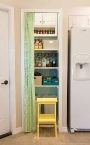burlap curtain pantry the door to my pantry is always open and i
