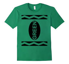 crayon costume green crayon costume t shirt goatstee