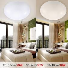 cool white lights led ceiling lights dia 260mm acrylic warm white cool white 20w 30w