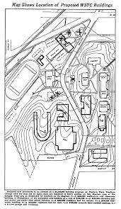 Michigan State Campus Map Campus Plan 1927 Master Plan Western State Teachers College