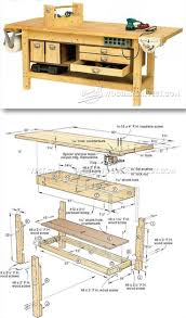 Woodworkers Bench Plans Bench Woodworking Bench Designs Best Workbench Plans Ideas Work