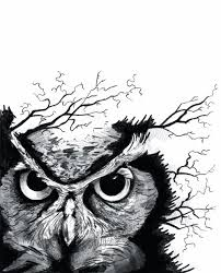 tribal horned owl tattoo design in 2017 real photo pictures