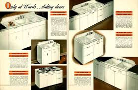 vintage 1941 montgomery ward metal kitchen cabinets steel