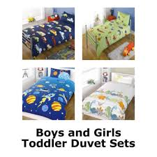 Junior Cot Bed Duvet Set Girls And Boys Toddler Duvet Cover And Pillowcase Cotbed Junior