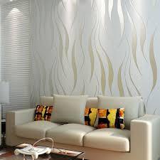 livingroom wallpaper 10m roll modern wallpaper style beige white beige white strips