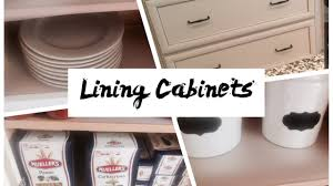 Cupboard Lining Ideas by How To Line Drawers And Cabinets Lining Cabinets Youtube