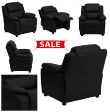 tã rkis sofa flash furniture recliner with storage arms black leather ebay