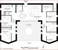 plan maison moderne 5 chambres plan maison plain pied gratuit chambres 168 klasztor co