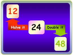 doubling and halving mixed word problem worksheet by paul jelley