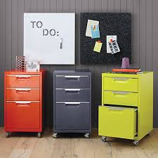Orange Filing Cabinet Best Under Desk File Cabinets 2013 Apartment Therapy