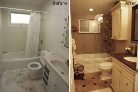 remodeled bathroom ideas lovely bathroom remodel before and after minimalist fireplace and
