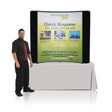 table top banners for trade shows tabletop 6 six foot pop up trade show display center graphic package