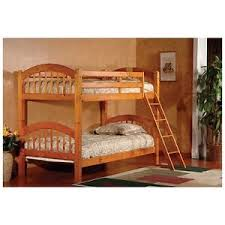 Solid Oak Bunk Beds EBay - Solid oak bunk beds with stairs