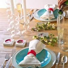 christmas table decoration ideas sunset