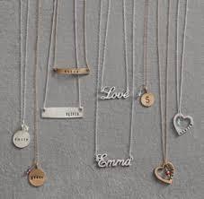 personalized bar necklace personalized 16 bar necklace