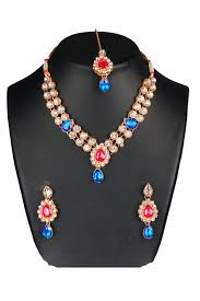 chunky necklace set images Designer traditional necklace set ms023 mstylist 9095 miss jpg