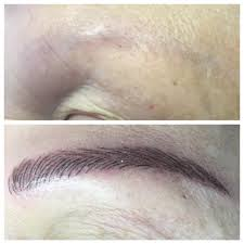 Permanent Makeup Eyebrows Hair Stroke Permanent Makeup Before U0026 After Gemma Kennelly Manchester