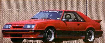 1985 saleen mustang 1985 ford mustangs