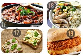 25 healthy lunch recipes for work