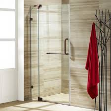 22 Inch Shower Door Vigo Tempo 24 5 In X 70 625 In Frameless Pivot Shower Door With