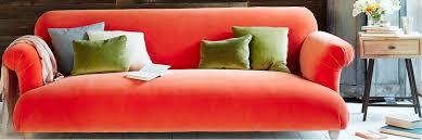 red velvet sofas made in blighty loaf