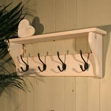 wooden coat rack with hooks tradingbasis for coat hooks wall