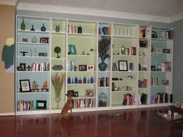ikea hack built in bookshelves tutorial lazy owl boutique