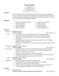 inventory manager job description event manager job description