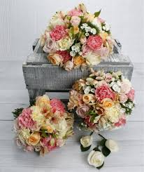 wedding flowers auckland mixed pastel flowers wedding bouquet package wedding flowers