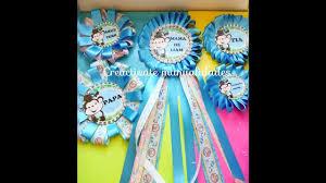 corsage de baby shower como hacer corsage para baby shower distintivos de babyshower