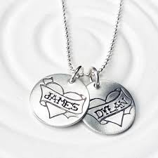 personalized mothers necklace heart name personalized mothers necklace